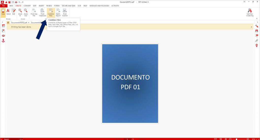 Combinando arquivos
