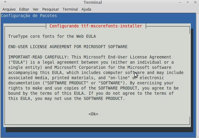 Contrato de Licença de usuário final