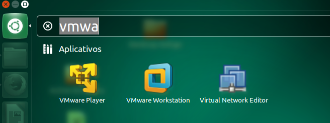 VMWare Workstation no Ubuntu