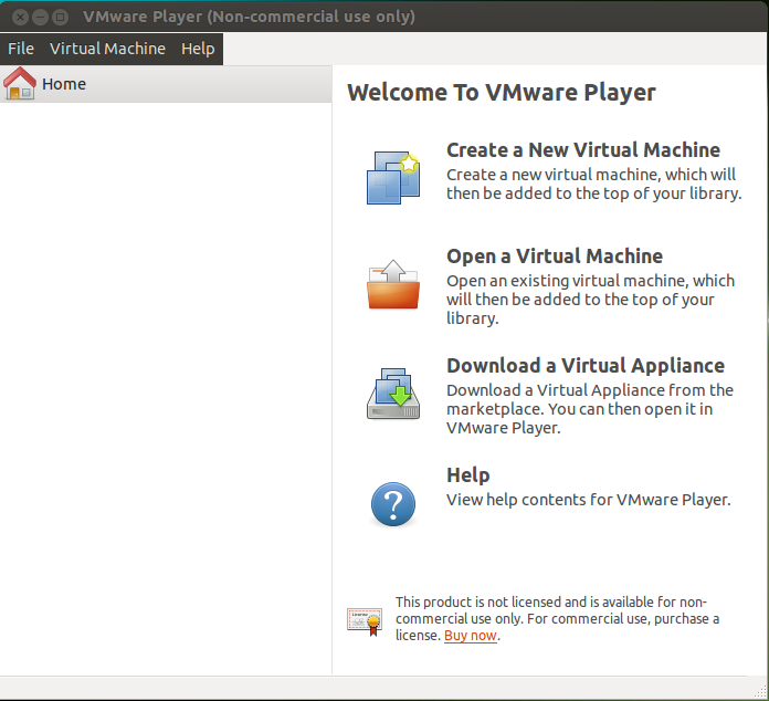 VMWare Workstation 11 no Ubuntu