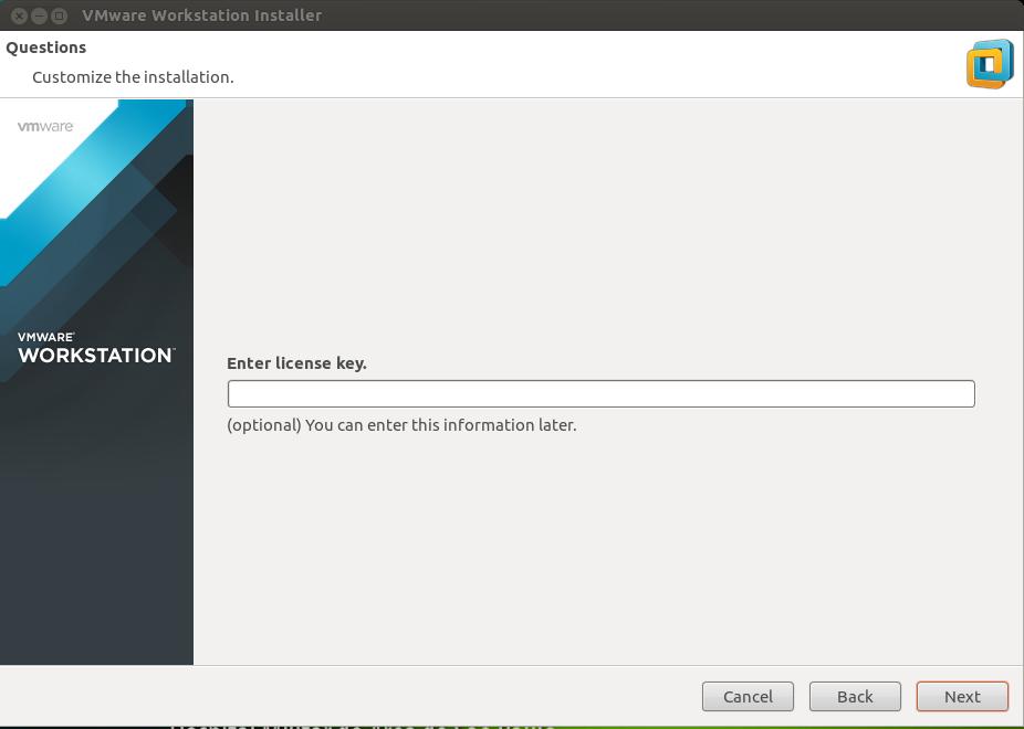 Instalando VMWare no Ubuntu